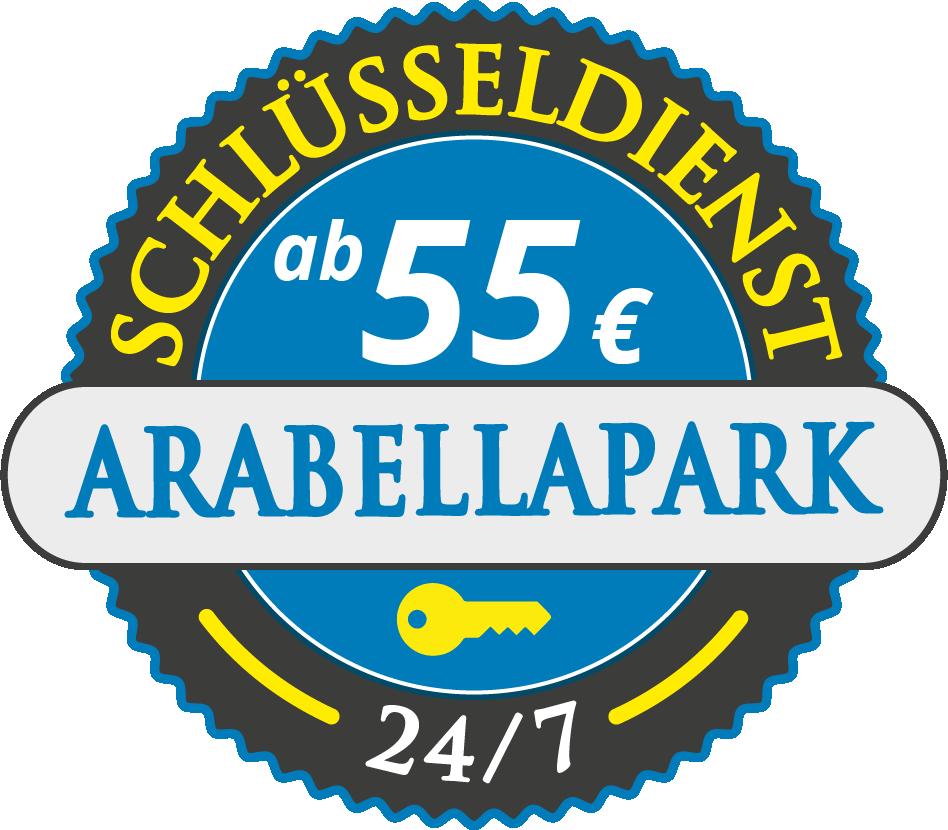 Schluesseldienst München arabellapark mit Festpreis ab 55,- EUR