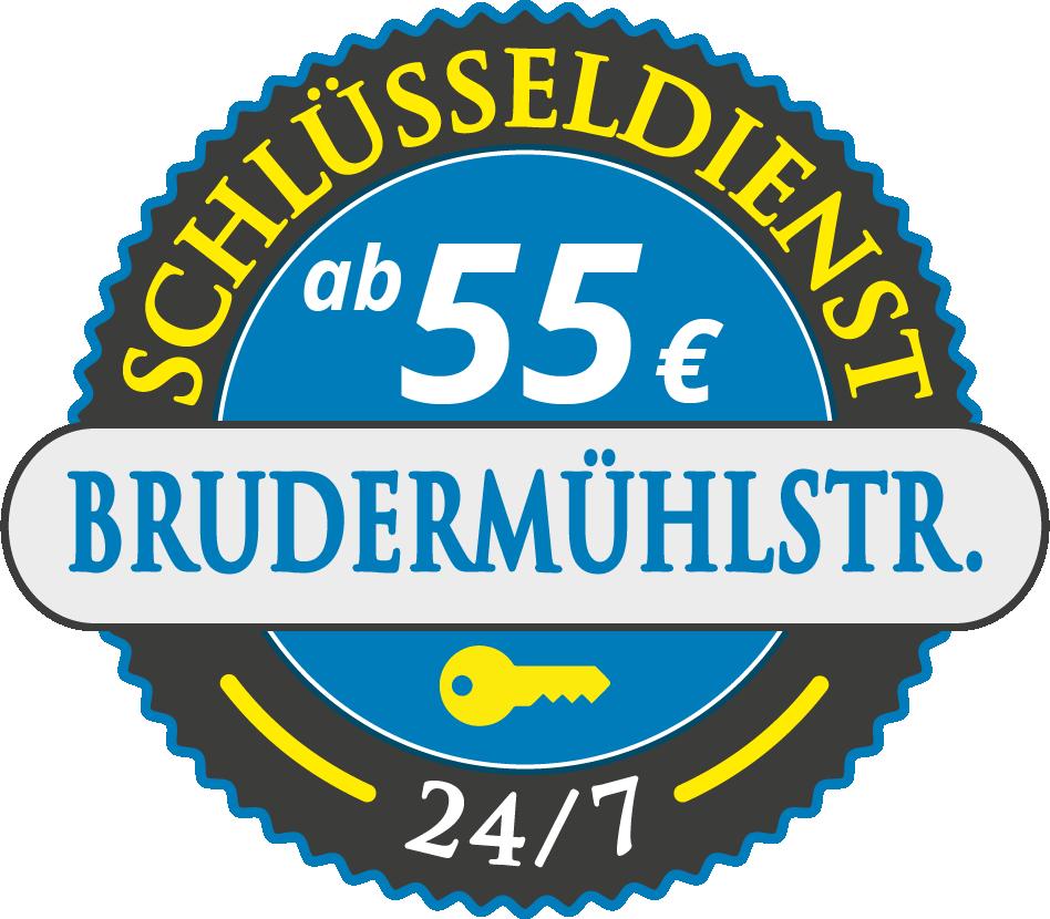 Schluesseldienst München brudermuehlstrasse mit Festpreis ab 55,- EUR