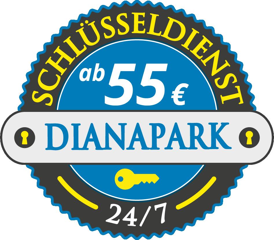 Schluesseldienst München dianapark mit Festpreis ab 55,- EUR