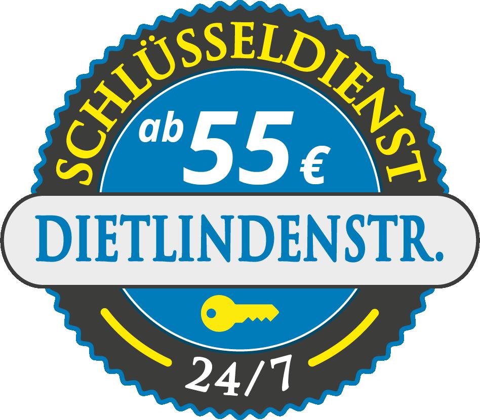 Schluesseldienst München dietlindenstrasse mit Festpreis ab 55,- EUR