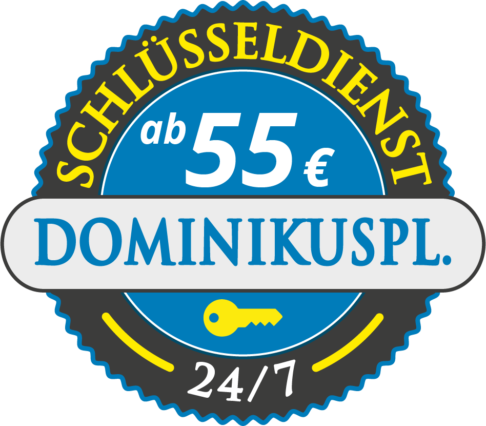 Schluesseldienst München dominikusplatz mit Festpreis ab 55,- EUR