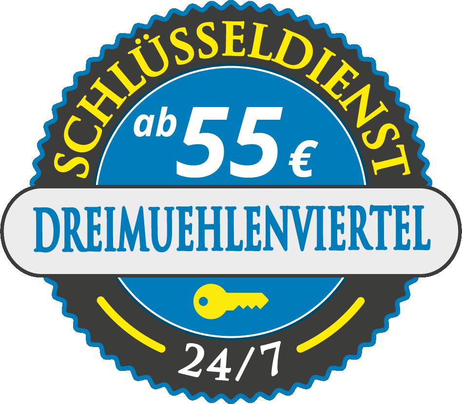 Schluesseldienst München dreimuehlenviertel mit Festpreis ab 55,- EUR