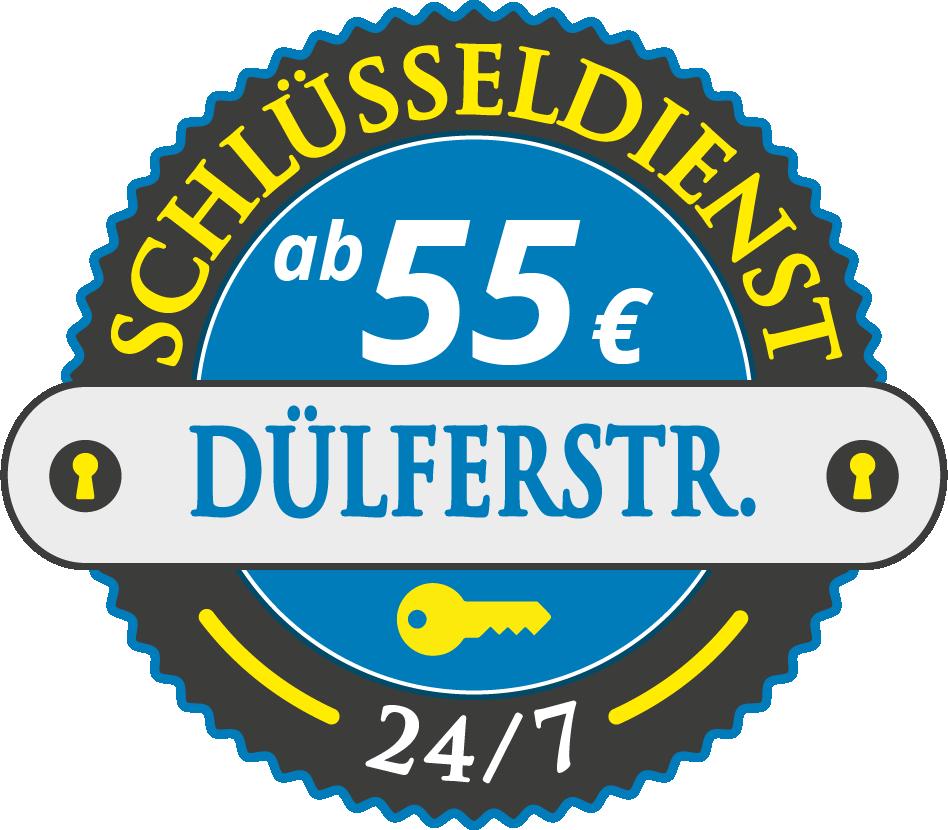 Schluesseldienst München duelferstrasse mit Festpreis ab 55,- EUR