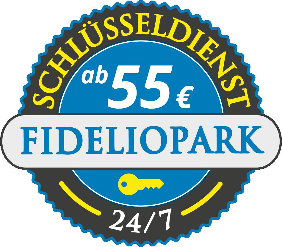 Schluesseldienst München fideliopark mit Festpreis ab 55,- EUR