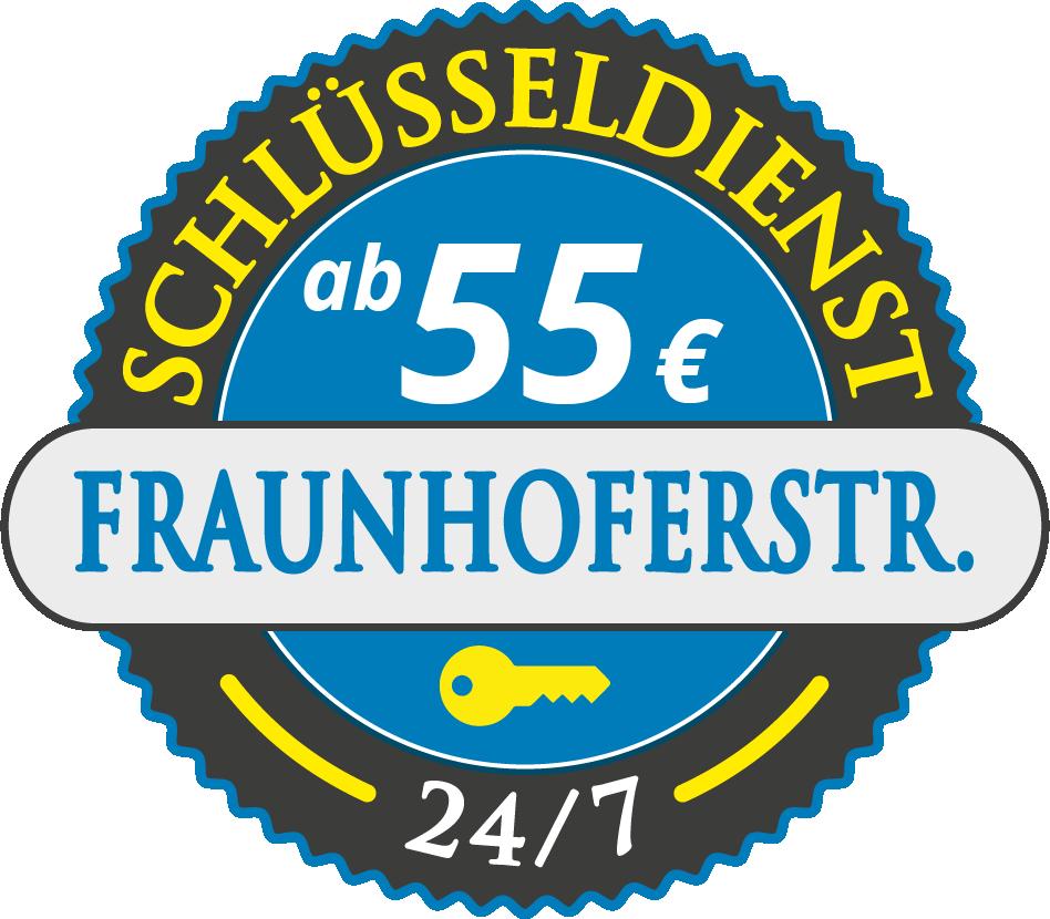 Schluesseldienst München fraunhoferstrasse mit Festpreis ab 55,- EUR