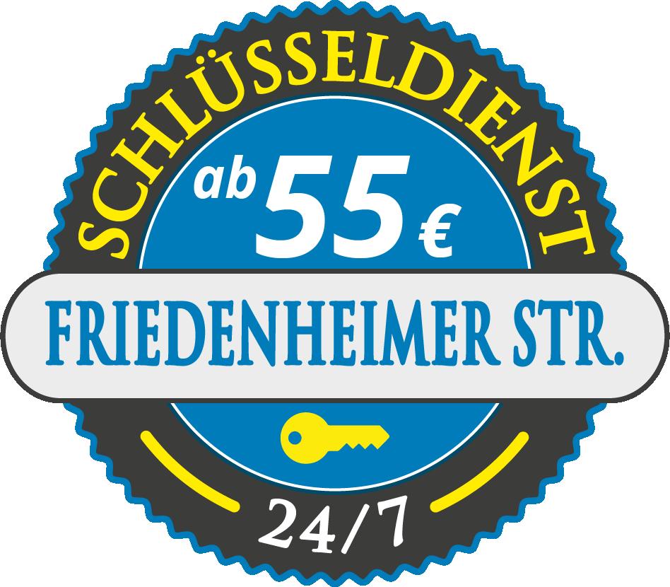 Schluesseldienst München friedenheimer-strasse mit Festpreis ab 55,- EUR