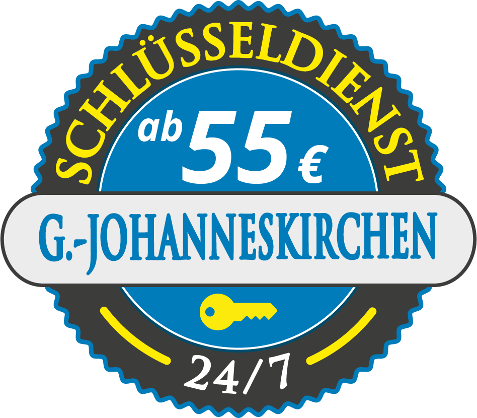 Schluesseldienst München gartenstadt-johanneskirchen mit Festpreis ab 55,- EUR