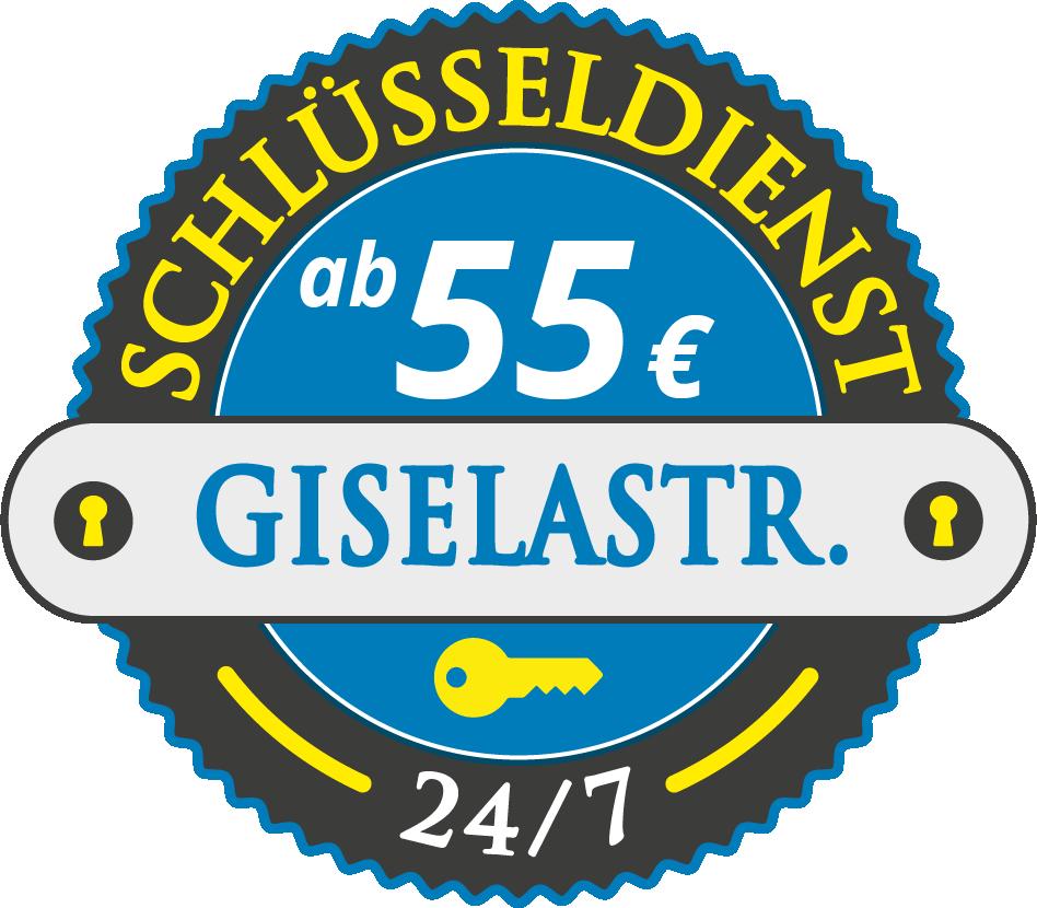 Schluesseldienst München giselastrasse mit Festpreis ab 55,- EUR