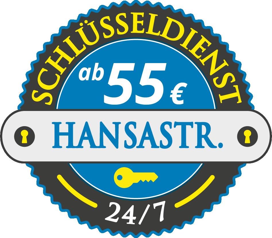 Schluesseldienst München hansastrasse mit Festpreis ab 55,- EUR