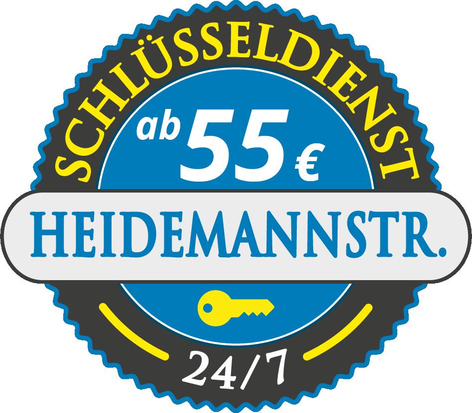 Schluesseldienst München heidemannstrasse mit Festpreis ab 55,- EUR