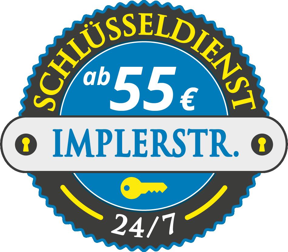 Schluesseldienst München implerstrasse mit Festpreis ab 55,- EUR