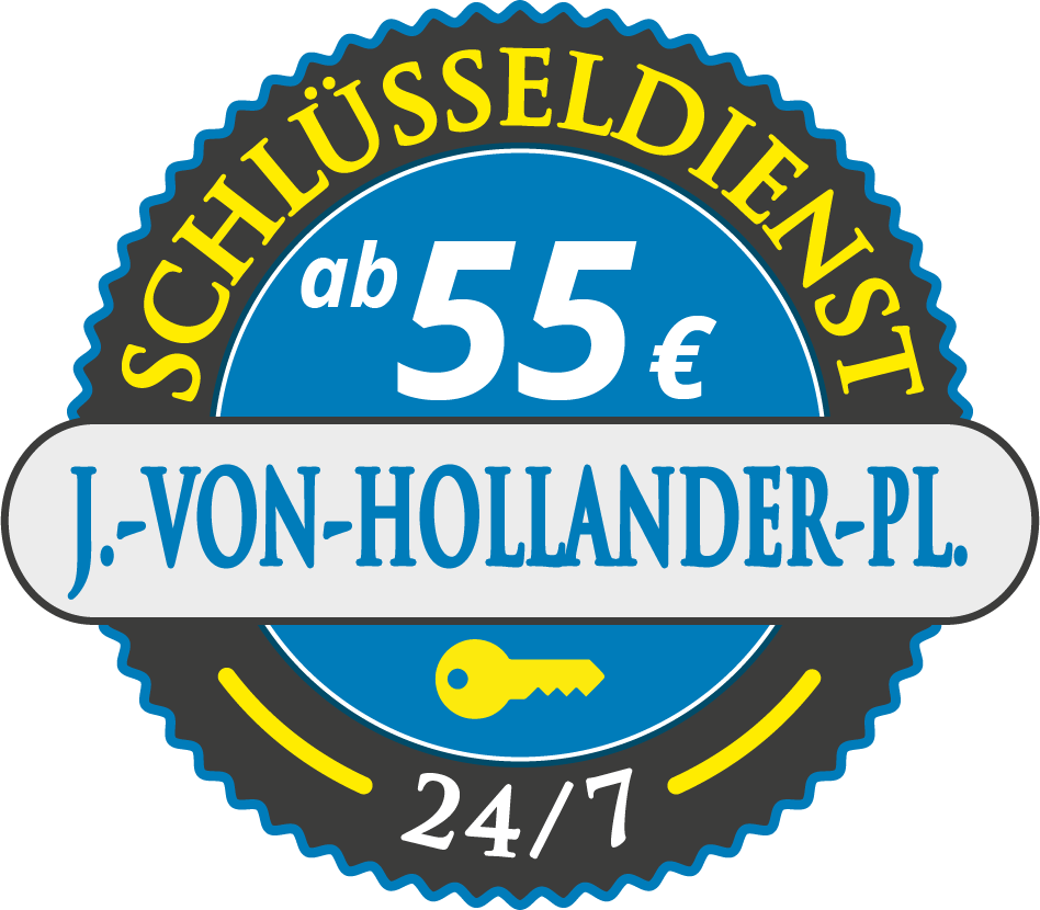 Schluesseldienst München juergen-von-hollander-platz mit Festpreis ab 55,- EUR