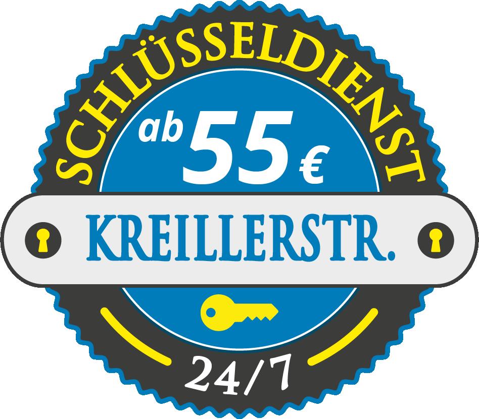 Schluesseldienst München kreillerstrasse mit Festpreis ab 55,- EUR
