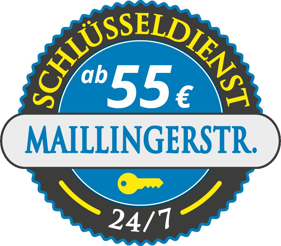 Schluesseldienst München maillingerstrasse mit Festpreis ab 52,- EUR