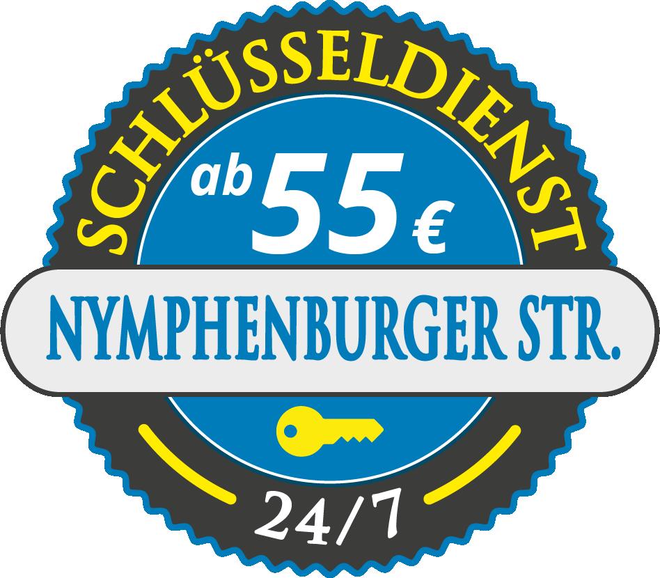 Schluesseldienst München nymphenburger-strasse mit Festpreis ab 52,- EUR
