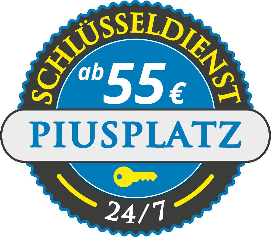 Schluesseldienst München piusplatz mit Festpreis ab 55,- EUR
