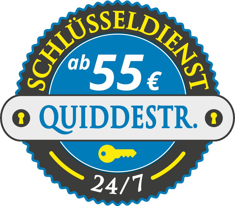 Schluesseldienst München quiddestrasse mit Festpreis ab 55,- EUR