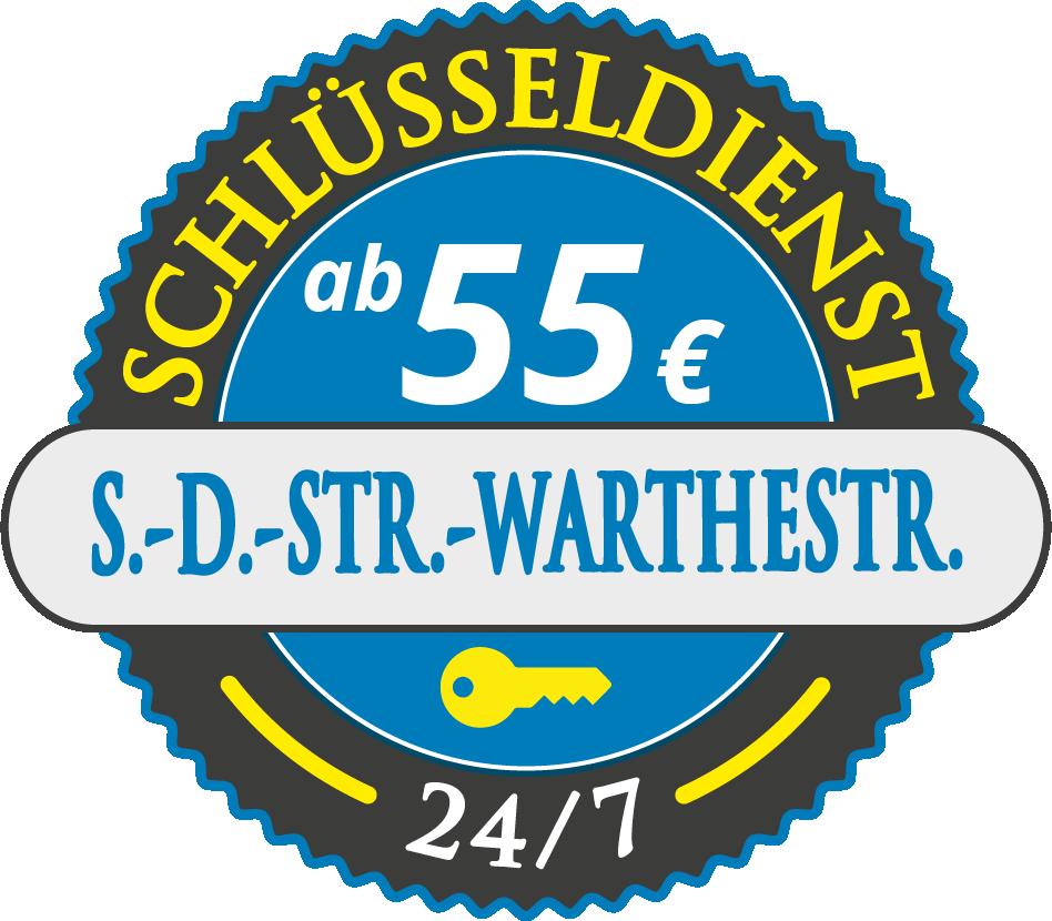 Schluesseldienst München siedlung-denninger-strasse-warthestrasse mit Festpreis ab 55,- EUR