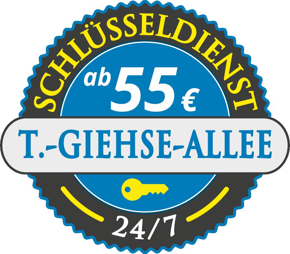Schluesseldienst München therese-giehse-allee mit Festpreis ab 55,- EUR