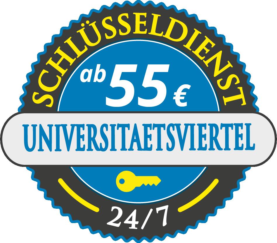 Schluesseldienst München universitaetsviertel mit Festpreis ab 55,- EUR