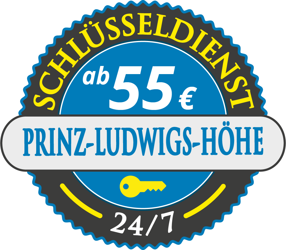 Schluesseldienst München villenkolonie-prinz-ludwigs-hoehe mit Festpreis ab 55,- EUR