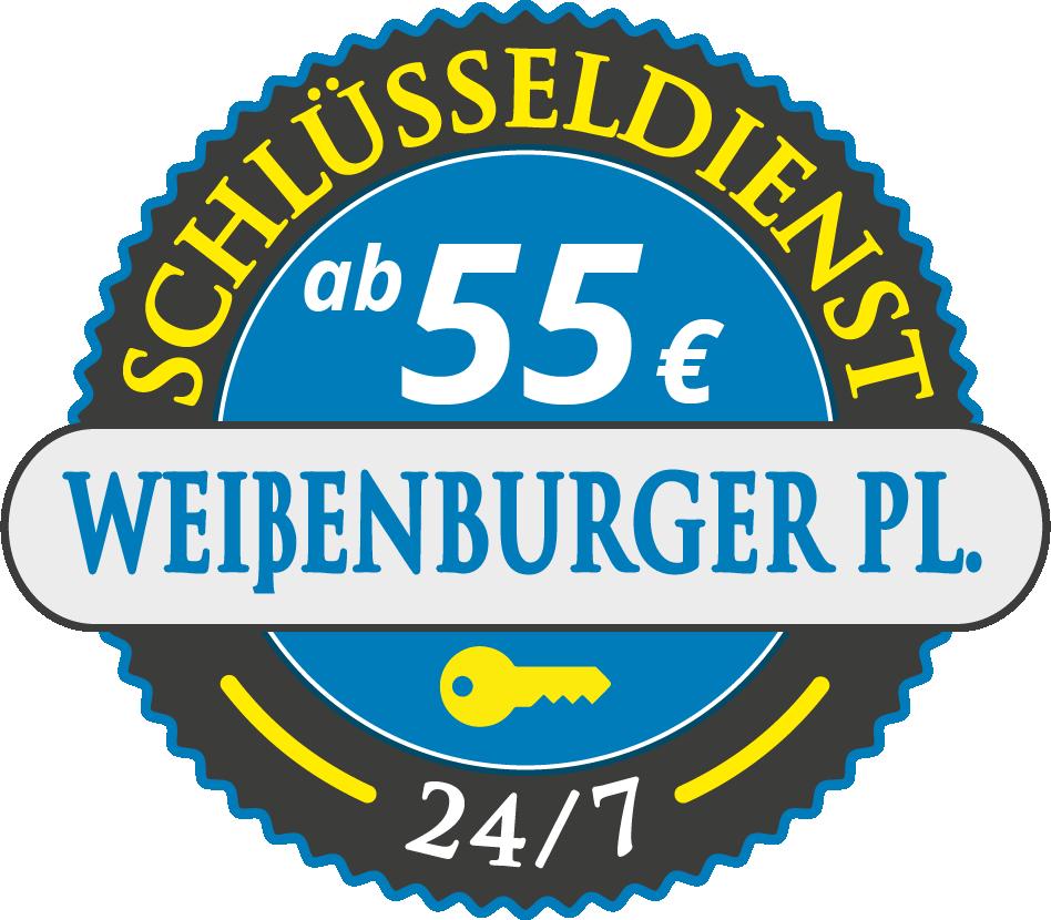 Schluesseldienst München weissenburger-platz mit Festpreis ab 55,- EUR